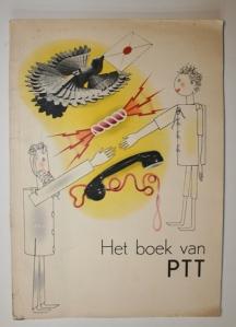 Zwart, Het boek van PTT, coberta