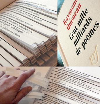 Raymond Queneau, Cent mille milliards de poèmes