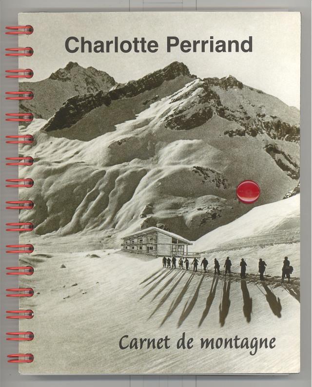 Charlotte Perriand, carnet de montagne, coberta