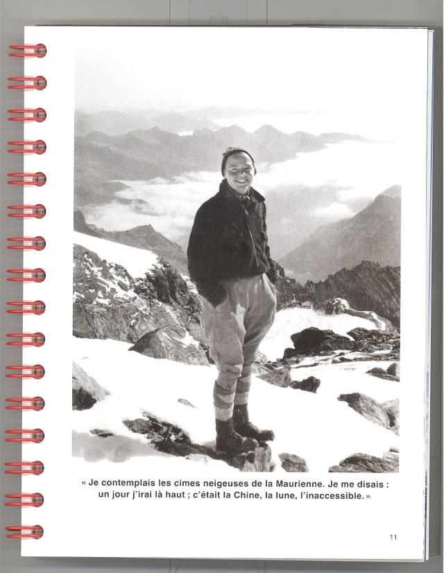 Charlotte Perriand, carnet de montagne, retrat