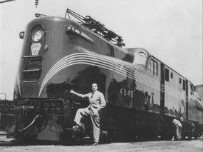 Loewy, locomotora GG1