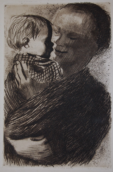 Kollwitz_Mutter_mit_kind_Kl110b