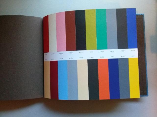 Claviers de couleurs. Basel: Salubra, 1931 (facsímil)