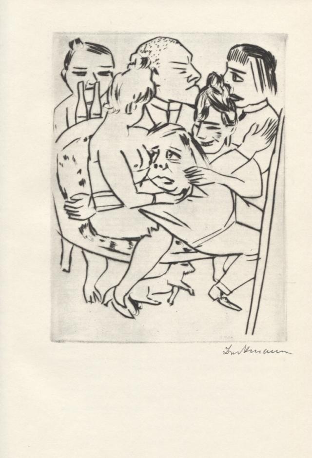 Max Beckmann. Ebbi (Ebbi). Viena: Johannes-Presse, 1924 (facsímil)
