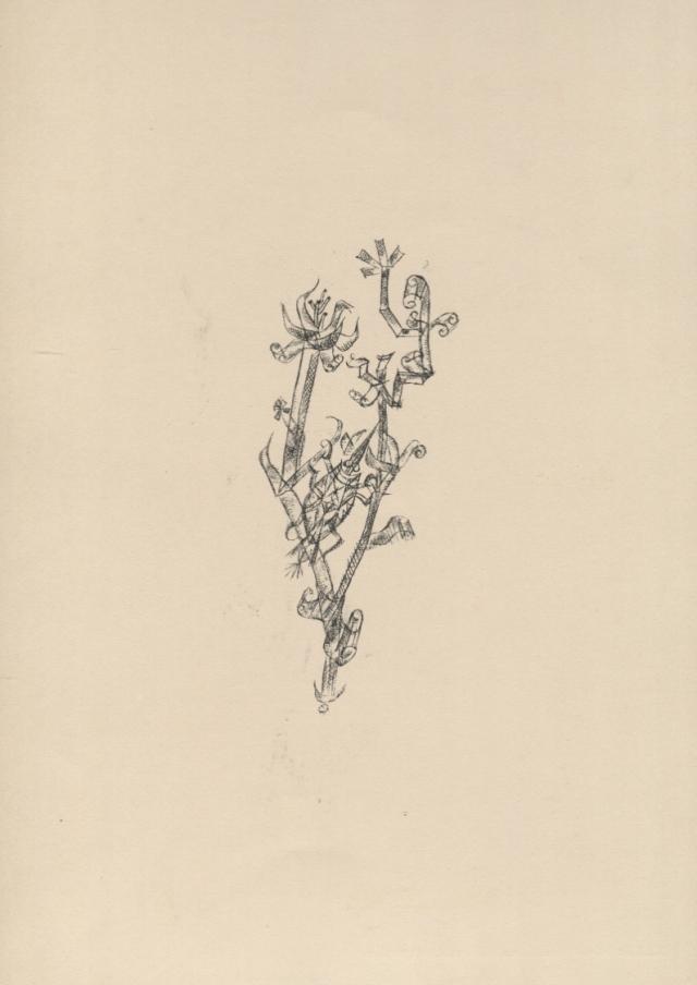 Paul Klee. Riesenblattlaus (Pugó gegant). 1920