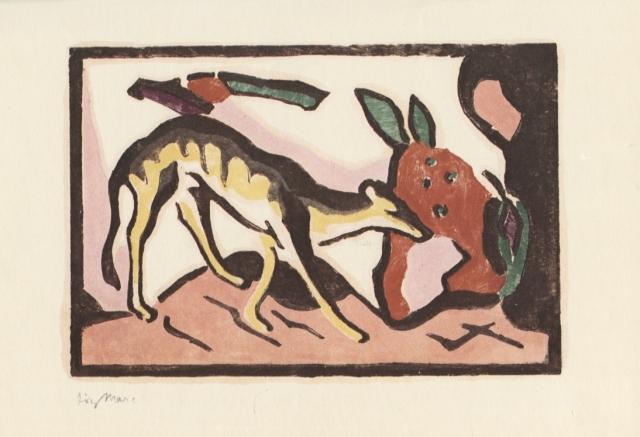 Wassily Kandinsky, Franz Marc. Der Blaue Reiter (El Genet Blau). Munic: Piper, 1912 (facsímil)