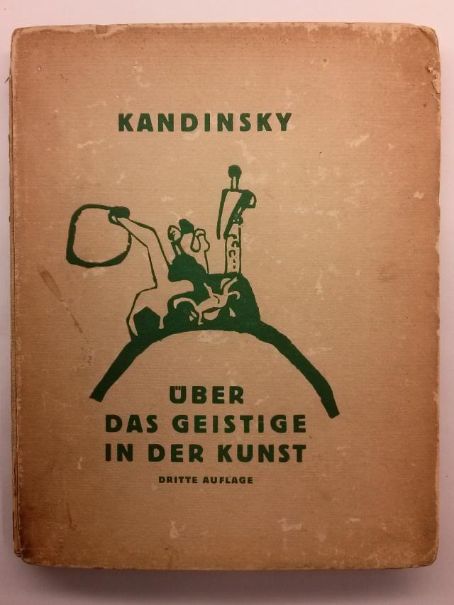 Wassily Kandinsky. Über das geistige in der Kunst (De l'espiritual en l'art). Munic: Piper, 1911