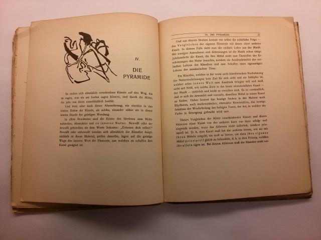Wassily Kandinsky. Über das geistige in der Kunst (De l'espiritual en l'art). Munic: Piper, 1912