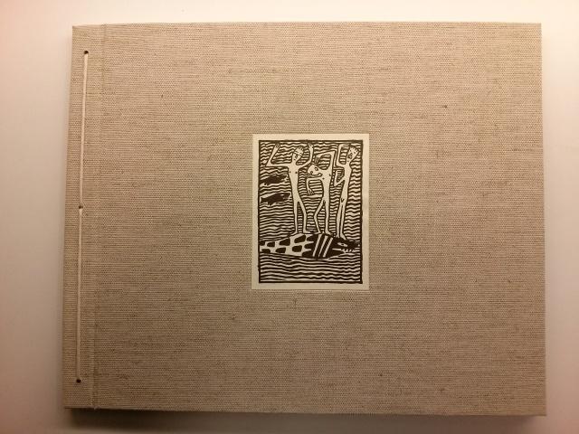 Oskar Kokoschka. Die Träumenden Knaben (Els nois somiadors). Viena: Wienner Werkstätte, 1908 (facsímil)