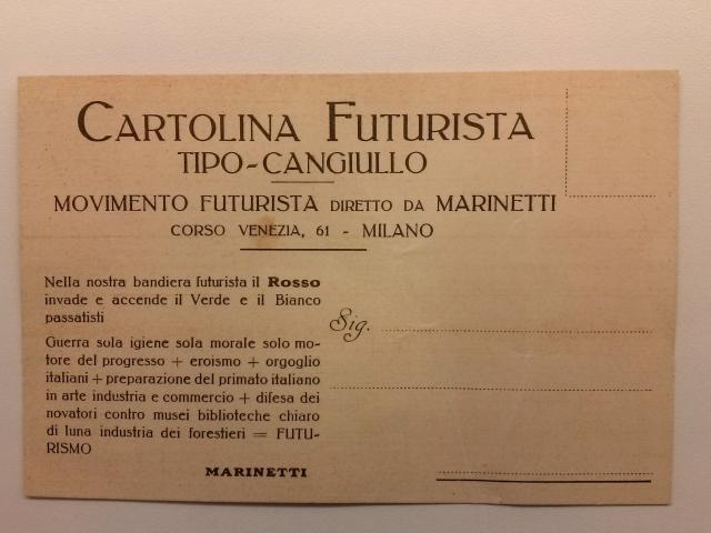 Futurismo_Cangiullo_Cartolina_4