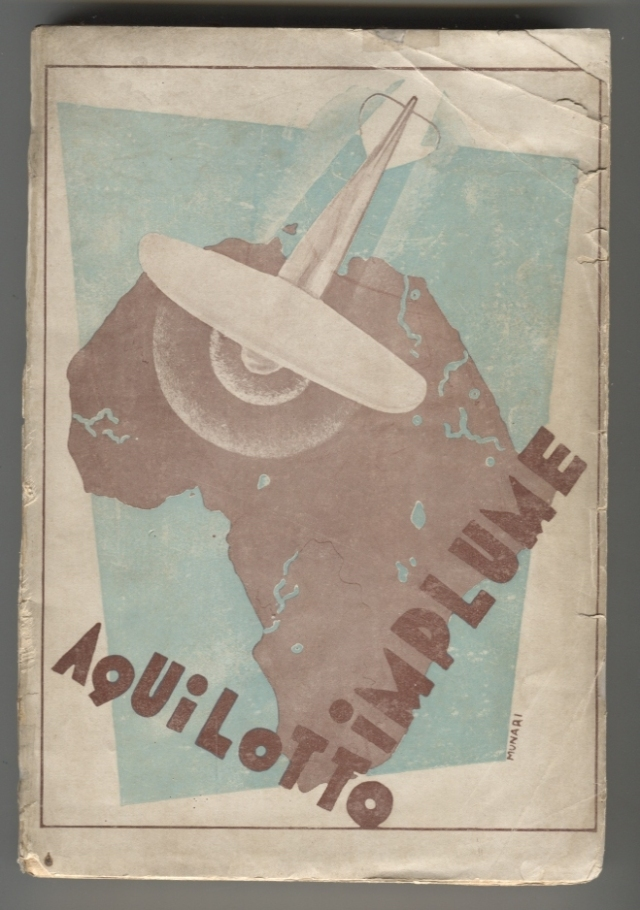 "Bruno Munari. ""Aquilotto implume"". Milà: Casa Editrice Gianbattista Rossi, 1929"
